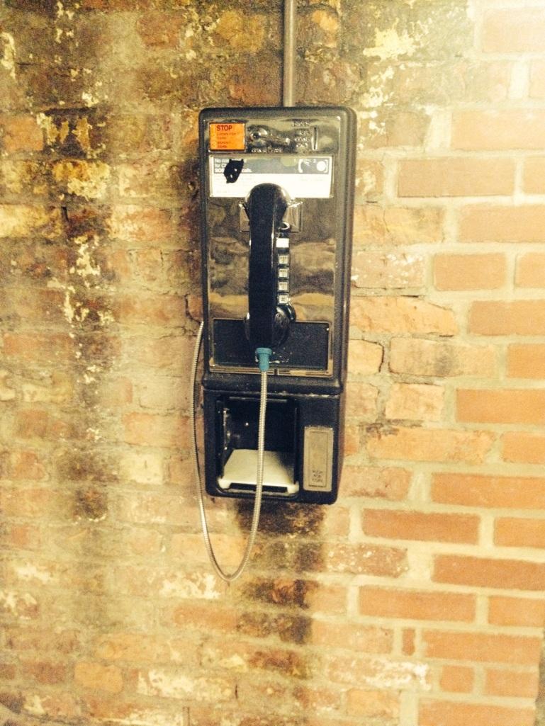 Phone booth Mass Moca