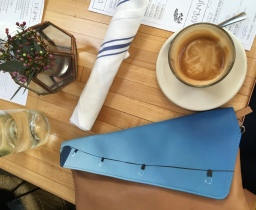 Bags & Coffee, what else? (Butcher's daughter, Venice, California)